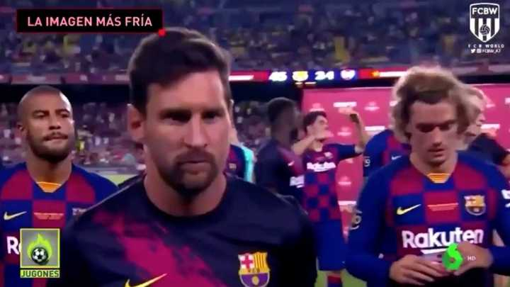 Messi ignoró a Griezmann