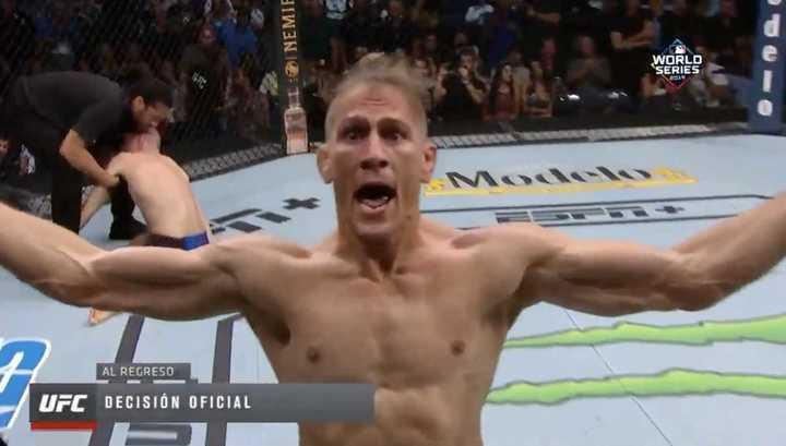 El tremendo nocaut en UFC de Niko Prince