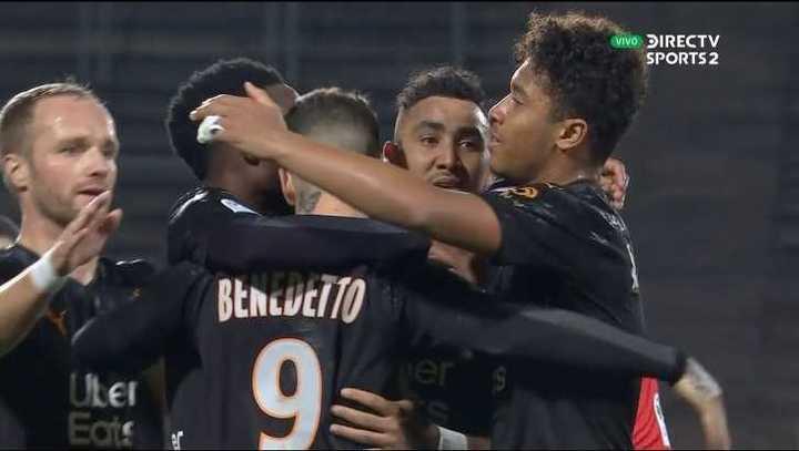 Benedetto puso el 2 a 1