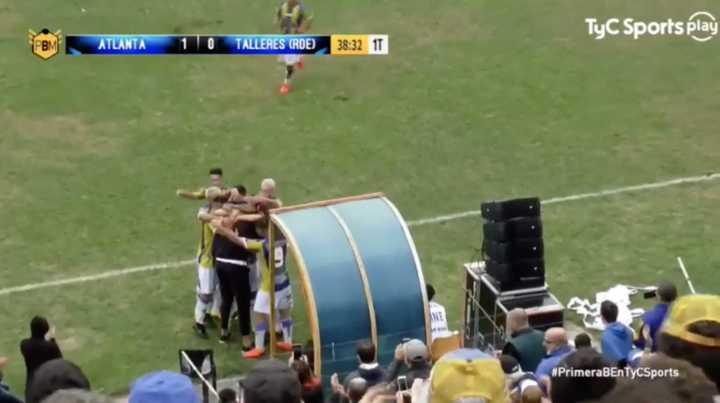 Los goles de Atlanta a Talleres (RE)