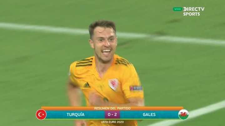 Los goles de Turquía 0 - Gales 2