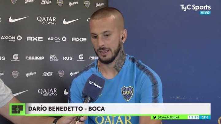 Benedetto habló de su salida frente a River en la final de la Libertadores