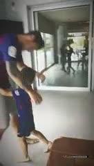 Mauro, con la 10 de Messi