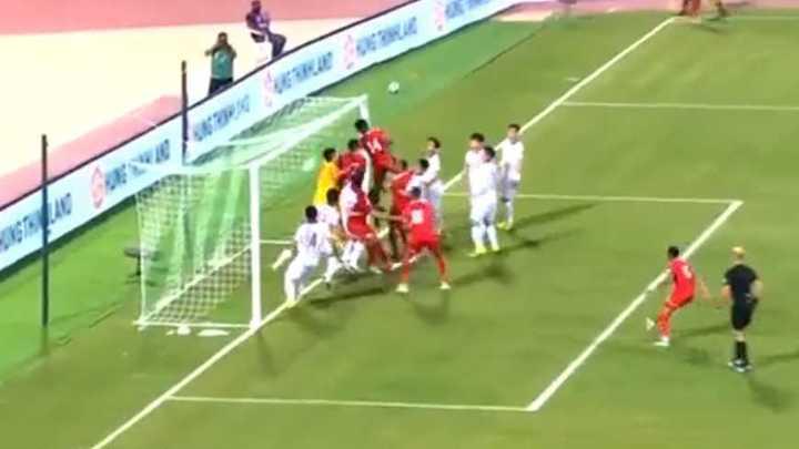 El gol olímpico de Omán