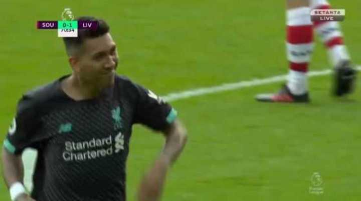Firmino clavó el 2 a 0 del Liverpool