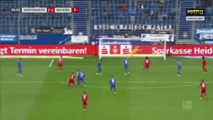 La goleada al Bayern
