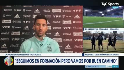 """Lionel Messi: """"Todo lo que me toca jugar con la Selección siempre es algo especial"""""""