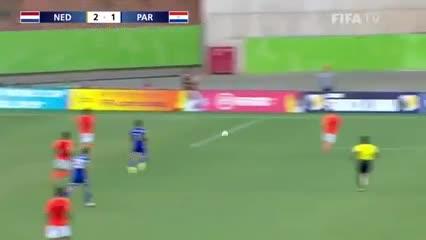 Lo mejor del 4-1 de Holanda a Paraguay por el Mundial Sub 17