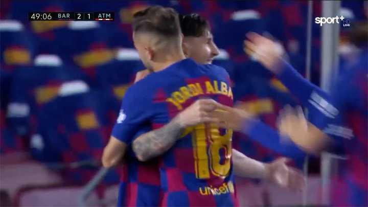 Messi marcó el 700