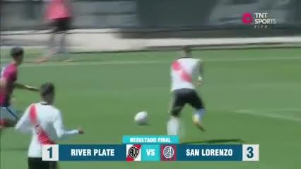 La Reserva de San Lorenzo le ganó 3-1 a River