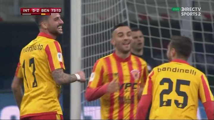 Bandinelli metió el segundo del Benevento