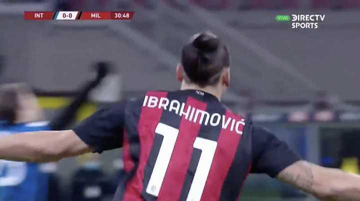 Zlatan marcó el 1 a 0