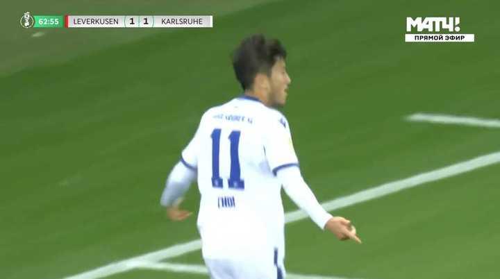 La derrota de Bayer Leverkusen por 2-1 en la Copa de Alemania