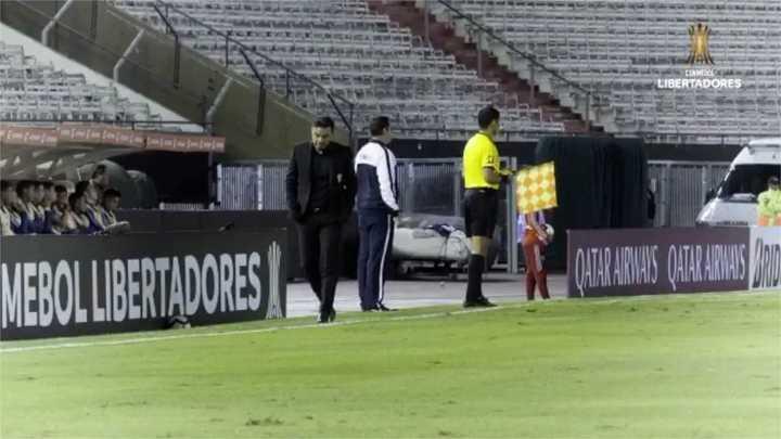 Así dirige Marcelo Gallardo en la Copa Libertadores