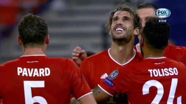 Javi Martínez le dio la victoria al Bayern Munich