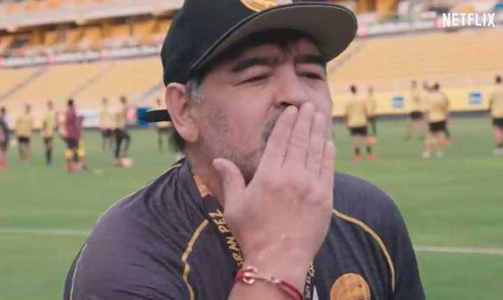 Mirá el trailer de la serie de Maradona