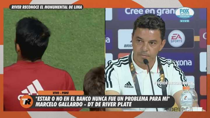 """Gallardo: """"Somos candidatos, tenemos las mismas chances que Flamengo"""""""