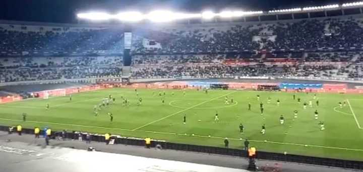 """De la mano, de Leo Messi"""