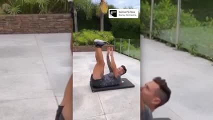 Mauro Zárate se prendió al desafío de Cristiano