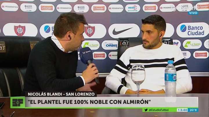 Blandi aseguró que San Lorenzo cuenta con jerarquía