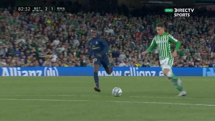 El resumen de Betis 2 - Real Madrid 1