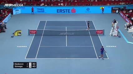 El resumen de la inesperada caída de Djokovic ante Lorenzo Sonego