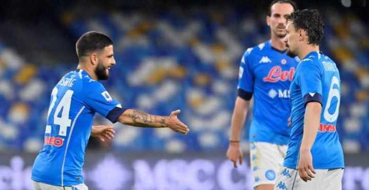 La goleada del Napoli a Musso