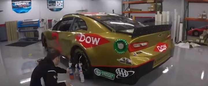 ¿Cómo se plotea un auto del NASCAR?
