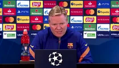 Koeman opinó sobre el rendimiento de Messi