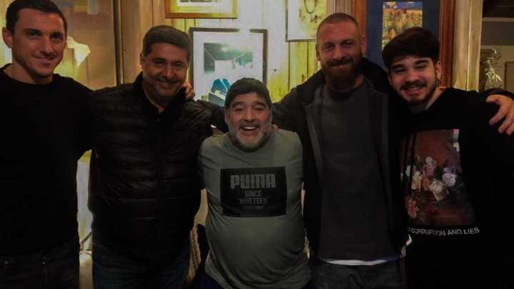"""""""El encuentro con Maradona no me lo voy a olvidar más"""""""