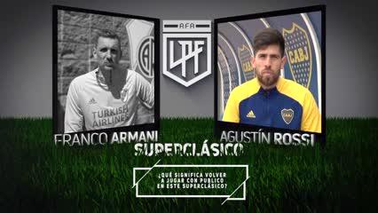 """Agustín Rossi, de la """"presión de River"""" y """"el plus de Boca"""""""