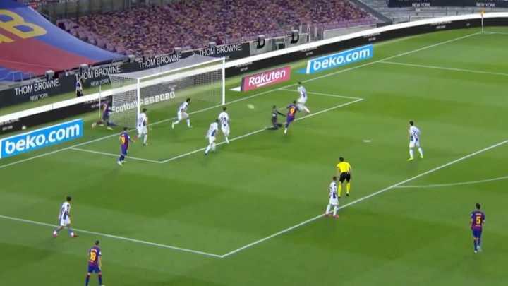 Luis Suárez marcó el primero del Barcelona