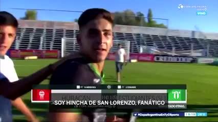 """""""Soy fanático de San Lorenzo"""""""