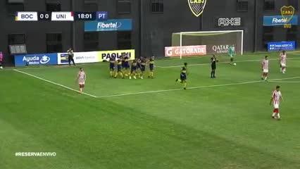 El gol de Weigandt en la Reserva