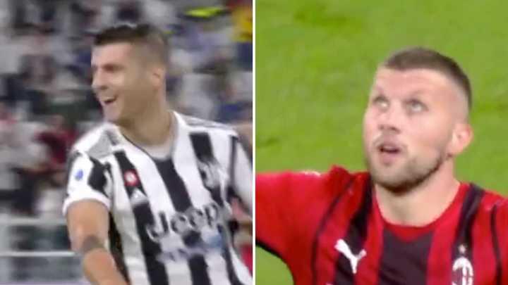 Los goles del empate entre Juventus y Milan