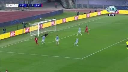 El cuarto gol para la goleada del Bayern