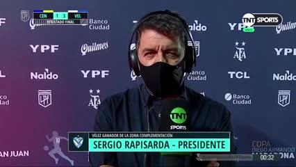 El presidente de Vélez, enojado por los jugadores de inferiores que se les van