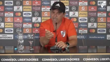 "Gallardo: ""River no está en oferta"""
