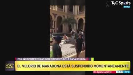 La gente invadió Casa Rosada y no quiere irse
