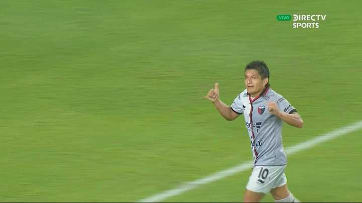 Gol de Luis Miguel