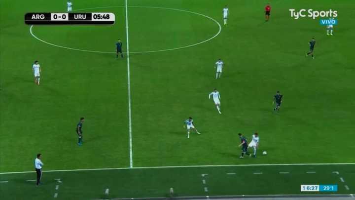 El taco de Messi