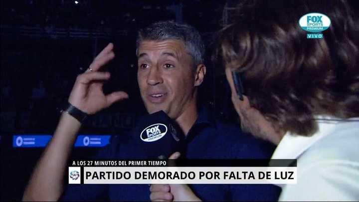 "Crespo ""Me sorprendió la actitud de Gallardo"""