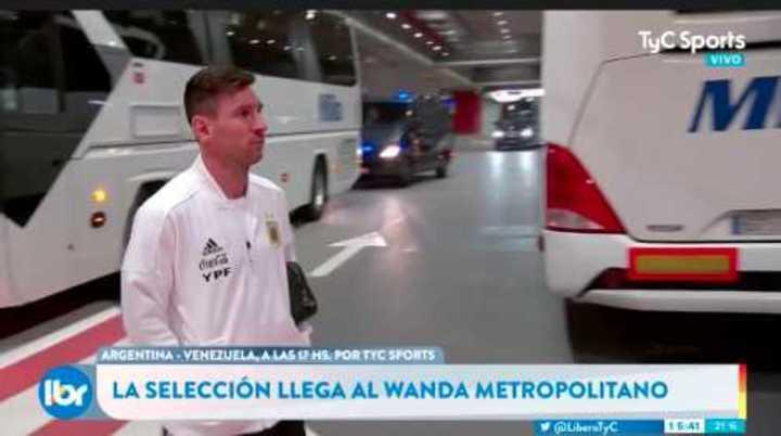Llegó la Selección, llegó Messi