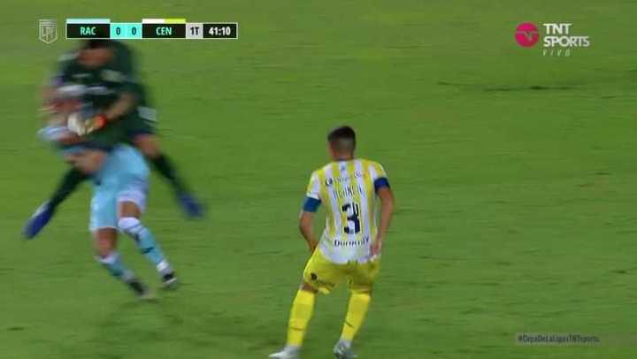 Broun a Copetti como Neuer a Higuaín