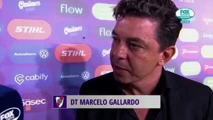 La palabra de Marcelo Gallardo tras el triunfo de River