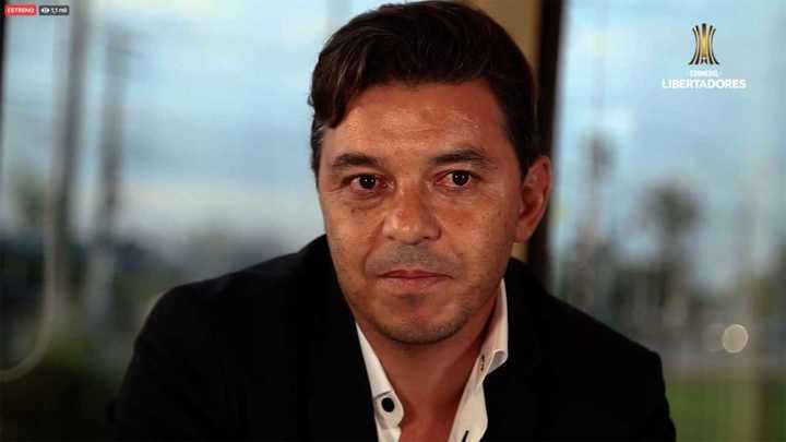 """Marcelo Gallardo: """"El que gana siempre no existe, porque eso es una irrealidad"""""""