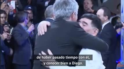Mourinho y su emotivo recuerdo a Diego