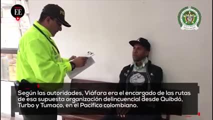 La captura de Jhon Viáfara por supuesto tráfico de drogas