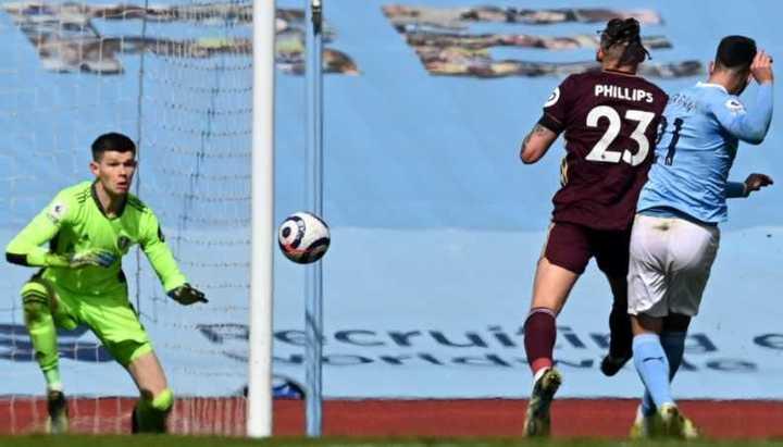 Ferrán Torres puso el 1-1 para el City vs Leeds