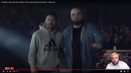 Messi y Agüero con un gamer español